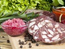 Domestic sausage Stock Image