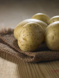 Few potatoes Royalty Free Stock Image