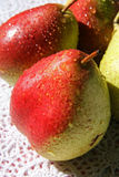 Few red pears Royalty Free Stock Photo