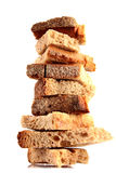 A few rusk. On each other Royalty Free Stock Image