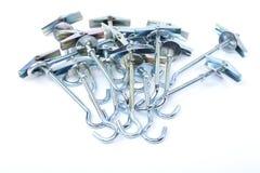 Few screw-rings ancor Stock Photo