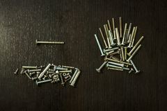 A few screws Royalty Free Stock Image