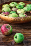 Few small apples Royalty Free Stock Image