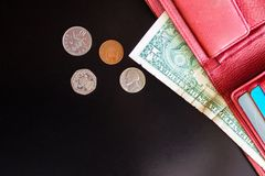 Cash, small money. Royalty Free Stock Images