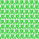 Background of green leaves beautifully wrapped Stock Image