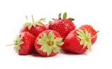 A few Strawberries Stock Photography