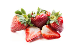 Few strawberries Royalty Free Stock Photo