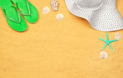 Few summer items Royalty Free Stock Images