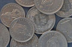 Few Swiss Francs royalty free stock photos