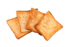 A few of toast bread Stock Image