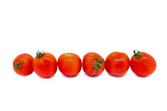 A few tomatoes Royalty Free Stock Photos