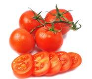 Few tomatos Royalty Free Stock Image
