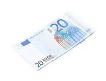 Few twenty euro bills Stock Photos