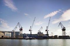 Helsinki stocznia Zdjęcie Stock