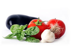 Few vegetable Royalty Free Stock Photography