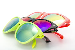 Few Very Bright Sunglasses Eyewear Royalty Free Stock Image