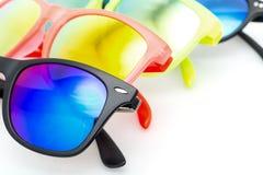 Few Very Bright Sunglasses Eyewear Stock Image