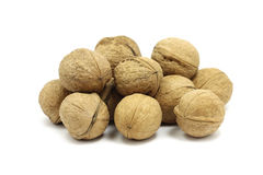 A few walnuts Royalty Free Stock Images