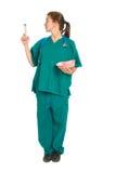 Fewmale lekarka lub pielęgniarka Obrazy Royalty Free