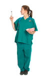 Fewmale nurse or doctor Royalty Free Stock Images