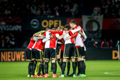 Feyenoord Scrum Royalty Free Stock Photography