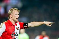 Feyenoord spelare Dirk Kuyt (Dirk Kuijt) Arkivbild