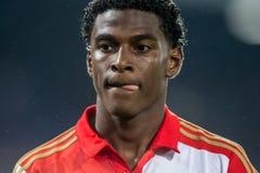 Feyenoord-Spieler Melvin Kingsale Lizenzfreie Stockfotos
