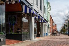 Downtown Fayerreville, North Carolina stock photos