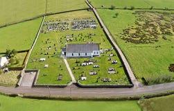 Feystown Chapel and Graveyard Co. Antrim Northern Ireland. Feystown Chapel and Graveyard in Co. Antrim Northern Ireland royalty free stock photography