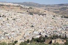 Fez Марокко вышесказанного Стоковая Фотография