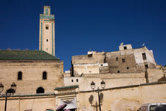 Fez building in morocco Royalty Free Stock Images