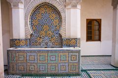 Fez building in morocco Royalty Free Stock Photo