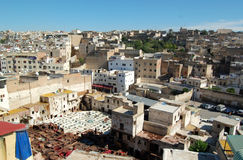 Fez city in Morocco Royalty Free Stock Image