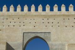 Fez City Wall Stock Image