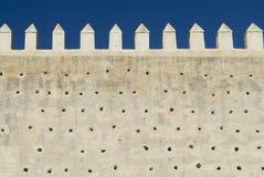 Fez City Wall Stock Photo
