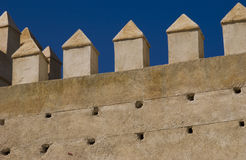 Fez City Wall Stock Photography