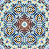Fez Complex Seamless Pattern Royalty Free Stock Photos