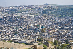 Fez general view at Morocco Stock Photo