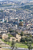 Fez general view at Morocco Royalty Free Stock Photos