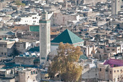 Fez general view at Morocco Stock Image