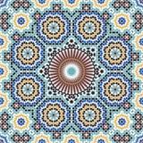 Fez-kompliziertes nahtloses Muster Lizenzfreie Stockfotos