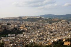 Fez, Morocco. View at city of Fez, Morocco stock image