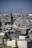 Fez,Morocco. View over the Medina, Fez,Morocco Royalty Free Stock Photography