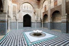 Examples of Moroccan architecture Stock Images