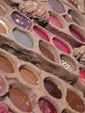 fez morocco tanneries Arkivbilder
