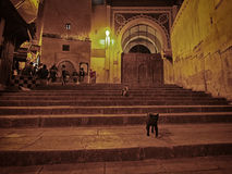 Fez at night Royalty Free Stock Photo