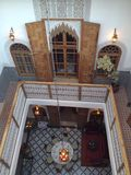 Fez riad. Beautiful riad in Fez, Morocco Royalty Free Stock Images
