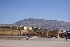 Fez walls Stock Image