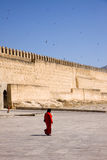 Fez walls Royalty Free Stock Image