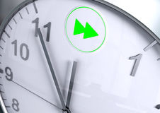 FF button countdown Royalty Free Stock Photography